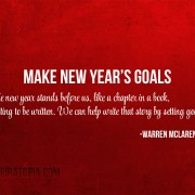Make New Year's Goals