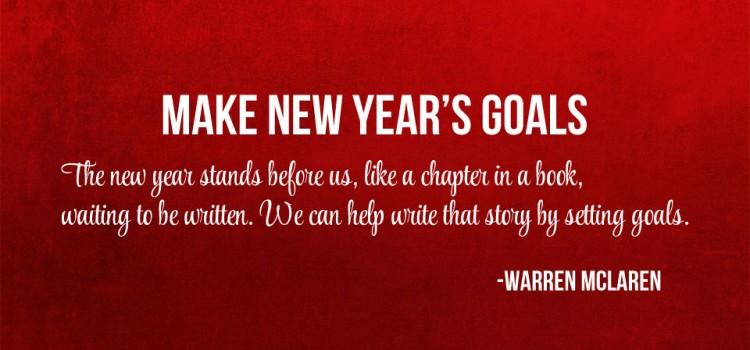 Make New Year's Goals