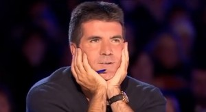 Simon Cowell Nearly Speechless