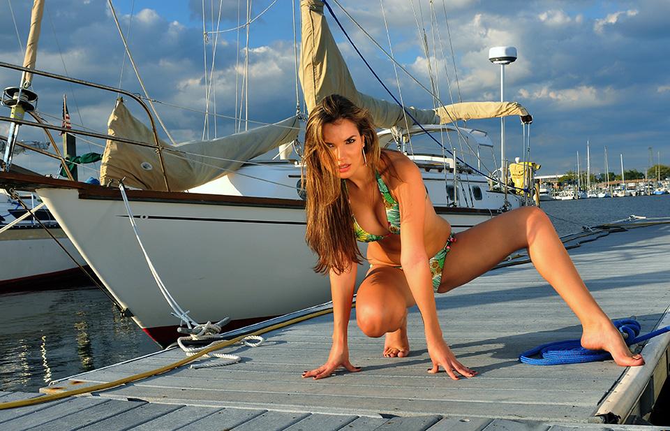Venezuela Model with Sailboat